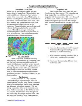 Sea Floor Spreading part 2