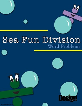 Sea Fun Division Word Problems and Activity!
