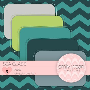 Sea Glass - Blurb FREEBIE