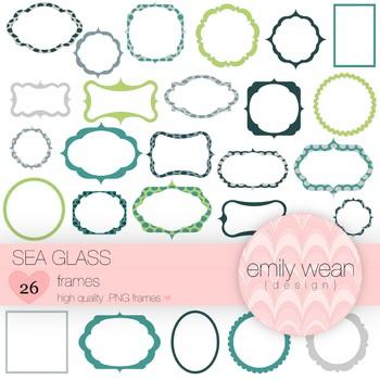 Sea Glass - Digital Frames
