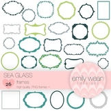 Sea Glass - Digital Frames