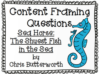 Sea Horse: The Shyest Fish in the Sea Bundle Wit and Wisdom