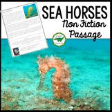 Sea Horses Non Fiction Passage Close Read