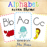 Alphabet Display - Ocean Alphabet Decor