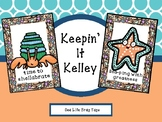 Sea Life Brag Tags