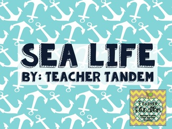 Sea Life Calendar and Numbers