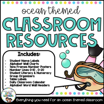 Classroom Decor: Sea Life Decor