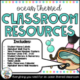 Classroom Decor: Sea Life Decor