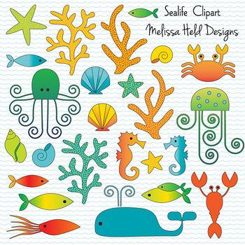 Clipart: Sea Life Clip Art