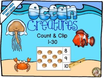 Ocean Count & Clip 1-30