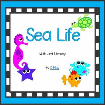 Sea Life - Math and Literacy