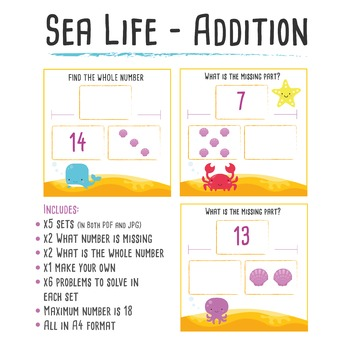 Sea Life Maths