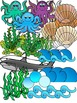 Sea Life, Sea Animals, Ocean Animals Clipart Graphics-162 images-Commercial Use