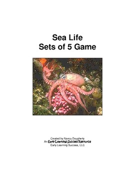 Sea Life Sets of 5 Game