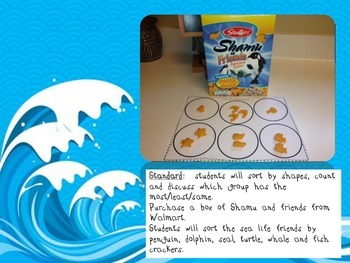 Sea Life Snack Mat