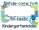 Sea Life Whale-come Sign