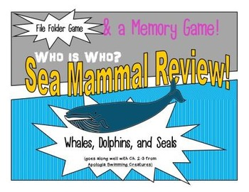 Sea Mammal Review Game