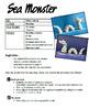 Sea Monster - 3D Modeling  Art Lesson Plan