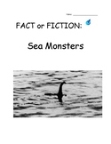 Sea Monsters! Fact or Fiction? - Argumentative Essay