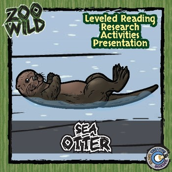 Sea Otter -- 10 Resources -- Coloring Pages, Reading & Activities