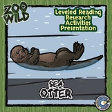 Sea Otter - 15 Zoo Wild Resources - Leveled Reading, Slide