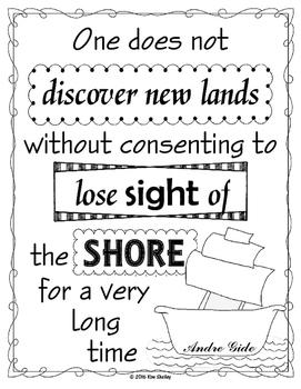 Sea Quotes - Lose Sight of Shore