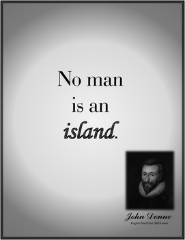 Sea Quotes - No Man Is An Island