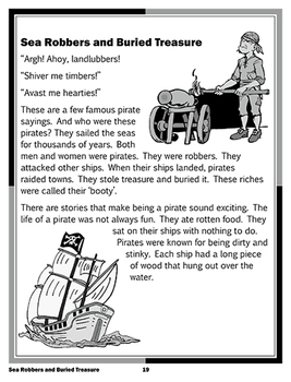 Sea Robbers and Buried Treasure