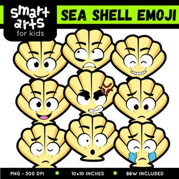 Sea Shell Emoji Clip Art