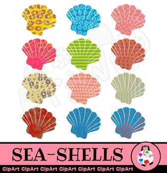 Sea Shell Marine Life Clip Art