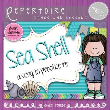 Sea Shell {Re Practice Pack with bonus Do slides}