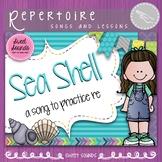 Seashell Melody Practice Activities