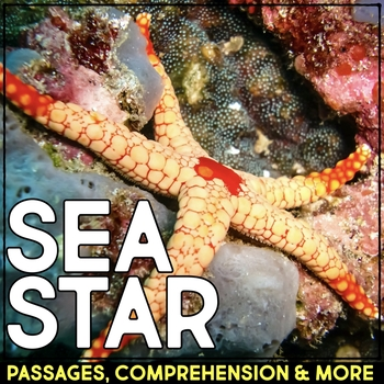 Sea Star: Informational Article, QR Code Research & Fact Sort