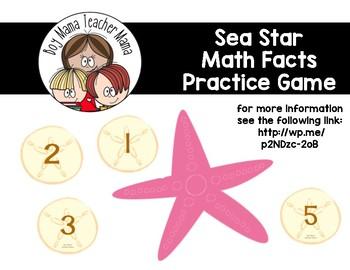 Sea Star Math Facts