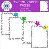 Sea Star / Starfish Borders FREEBIE