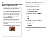 Sea Stars Informational Text Features Acitvity/Assessment
