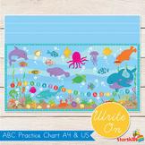 Sea Theme Alphabet Chart