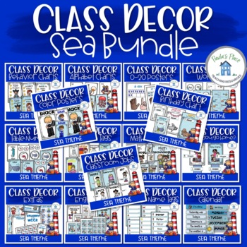 Sea Theme Class Decor Bundle