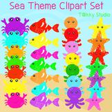 Sea Theme Clipart Set