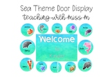 Sea Theme Door Display