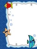 Sea Theme Frame/Border