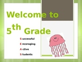 Sea Theme Welcome Powerpoint