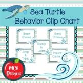 Sea Turtle - Behavior Clip Chart