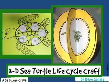 Sea Turtle Life Cycle: {Life Cycle of a Turtle Craft}