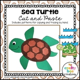 Sea Turtle Craft | Ocean Animals Activity | Sea Life | Ocean Habitat Activities