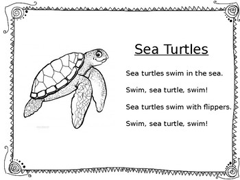 Sea Turtle Differentiated Reading Comprehension Passages
