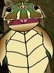 Sea Turtle Puppet, Paper Bag Puppet Template, Sea Turtle