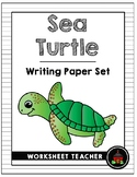 Sea Turtle Writing Paper Set