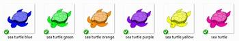 Sea Turtles Clip Art