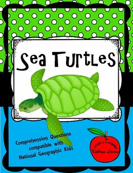Sea Turtles / Compatible with National Geographic Kids